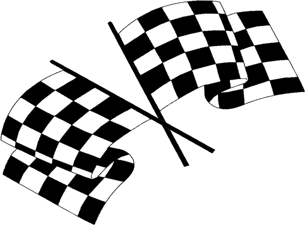 картинг флаги