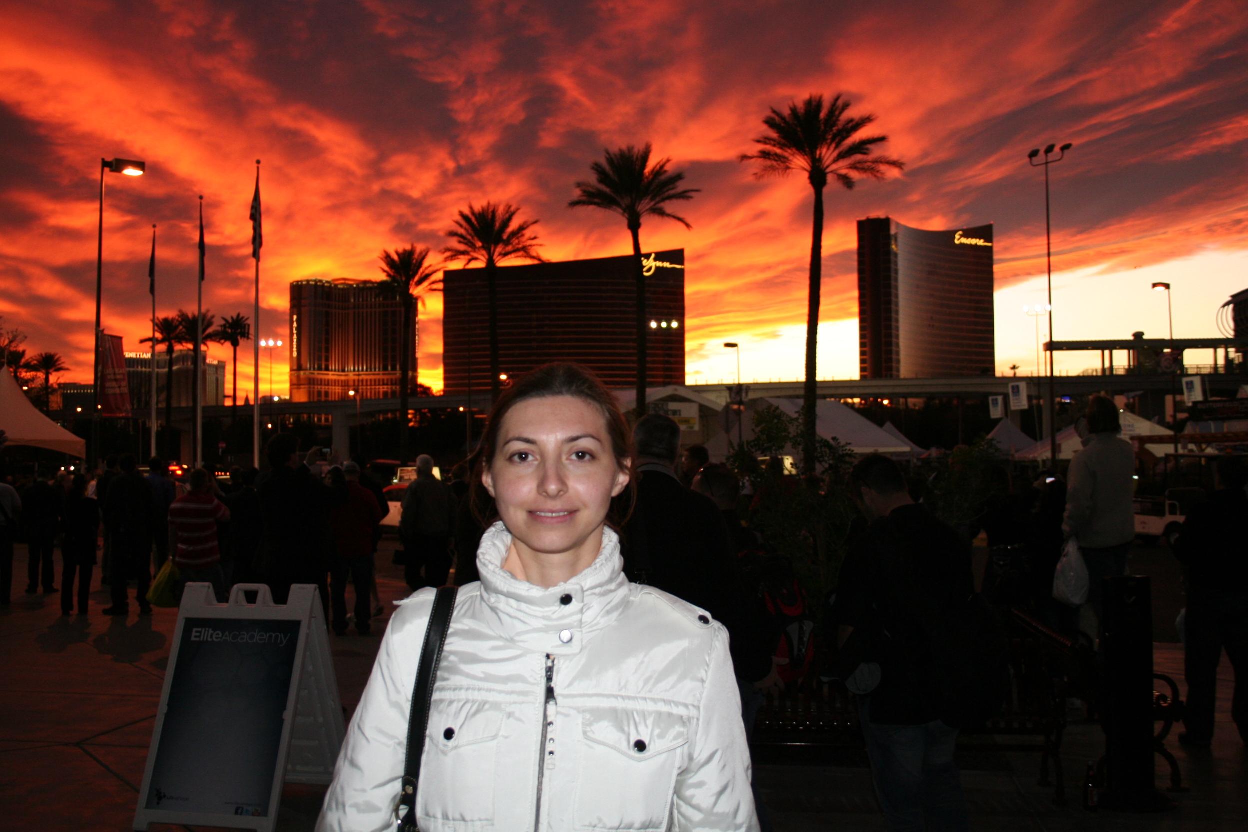 Лас-Вегас, выставка,