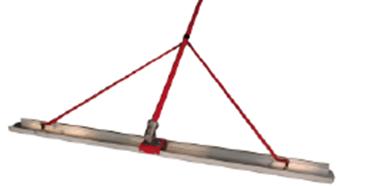 Выглаживающая рейка Channelradiusfloat для обработки свежего бетона.
